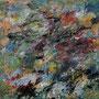 kleine Abstraktion 02 • 2015 • Gouasche auf Leinwand • 50 x 50