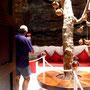 la maison fondation de César Manrique à Lanzarote, sous la lave