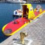 un sous-marin à touristes