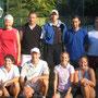Die erfolgreichen Spieler bei den Clubmeisterschaften