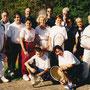 Die Teilnehmer beim Bändchenturnier