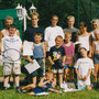 Die Teilnehmer beim Jugend-Bändchenturnier