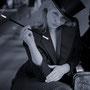 Die Frau am Klavier