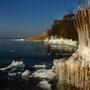Gefrorenes Ufer