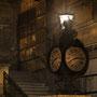 Dresden - Uhr am Terassenufer