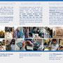 Flyer Jüdisches Kunstatelier Omanut: Gestaltung