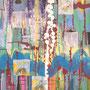 Wertschöpfung, 2018.<br />Acryl auf Karton, ca. 69,5 x 49,5 cm