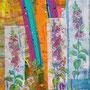 Juli-Segen, 2016. Mischtechnik auf Papier,<br />65 x 44,5 cm<br />