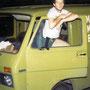 Unser 1. Lieferwagen