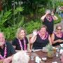 マウイ島、結婚式前日のパーティ