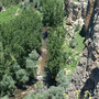ウフララ渓谷のハイキング