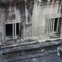 アンコール・ワットの回廊の窓