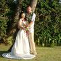 ハワイ、マウイ島の結婚式