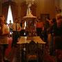 ドルマバフチェ宮殿の見学ツアーの様子