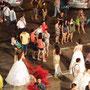 タイ・パタヤ・ニューハーフショー(ステージ後の光景)