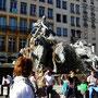 Place des Terreaux, fontaine Bartholdi
