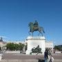 Place Bellecour, statue équestre de Louis XIV