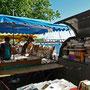 Bords de Saône, quai de la pêcherie, bouqinistes