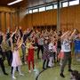 Tanzfest 3.+4.Klassen Esslinger Hauptstraße Mai 2019