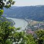Donaublick vom Ebenstein