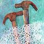 Good night my iron man!/ Watercolour 30x40 cm