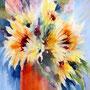 Little suns / watercolour  30x40 cm incl PP