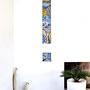 FLOREAL, mosaico in smalti vetrosi e pietre naturali / Leonardo Pecoraro