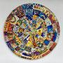SPIRALE MAGICA, mosaico in smalti vetrosi e pietre naturali / Leonardo Pecoraro