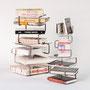 Libreria modulare con volumi / Kindof