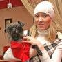 Степан с хозяйкой Анастасией Жариковой