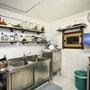Cà du Russu Restaurant, Professionelle Küche