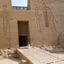 Im Isis-Tempel von Philae, Photo: Daniela Rutica