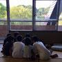 お泊まり会。福島と神奈川の子どもたちで楽しんでます。