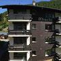 panorama uitzicht naar oosten, appartement 1, Ferienhaus-Apartment Golf Saas-Fee