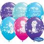 "Balon Frozen ""Kraina Lodu"" 2 zł / szt lub 5 zł z helem"