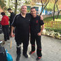 Con el Maestro Steve Tappin