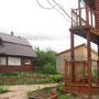 Blick in den Garten des Phönix-Kinderhauses