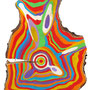 """""""anelli a Colori""""acrilici sulegno di pino 3 cm20x29"""