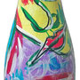 """""""bottiglietta mignon di spumante"""" acrilici su vetro (2001)"""