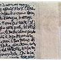 """""""appunti per divano"""" acrilico e carta su vecchia asse cm104X22,5"""