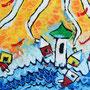 """""""vento e pioggia"""" acrilico su lamiera - 5 pannelli da cm30x50 (2)"""