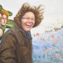Wind of Change, 2012, 50x66 (49x62), Farbstift + Aquarell / Aquarellpapier