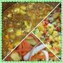 Linsen-Gemüse-Gericht