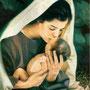 der Monat Mai ist Mutter Maria gewidmet