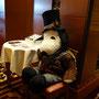 クリスマスのスヌーピー(帝国ホテル)