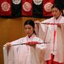 三人官女の舞(市比賣神社ひいな祭2015)