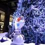 オラフ(アナと雪の女王ツリー/グランフロント大阪)2014年