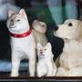 犬の置物(井上六郎商店)