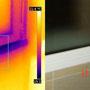 Ponte termico d'angolo fra telaio dell'infisso e tamponamento