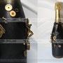 Подарочная бутылка шампанского на рождение маленького супер мена
